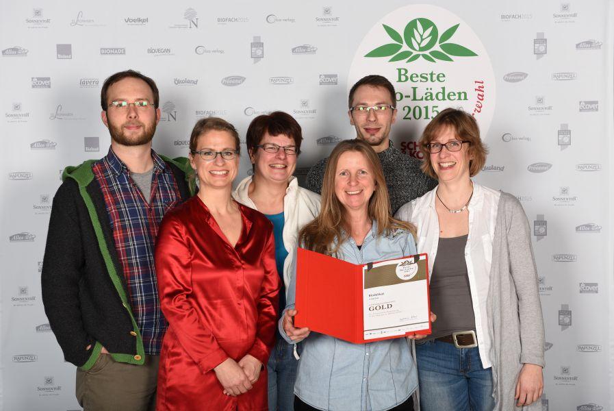 Pressefoto Team Biodelikat Bad Tölz und Schort & Korn Chefredakteurin Stephanie Silber