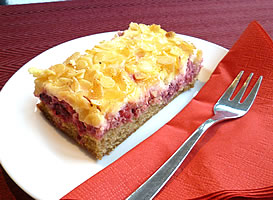 Handwerkliche Kuchen Käsekuchenschnitte - Backtheke Bioladen Biodelikat Bad Tölz