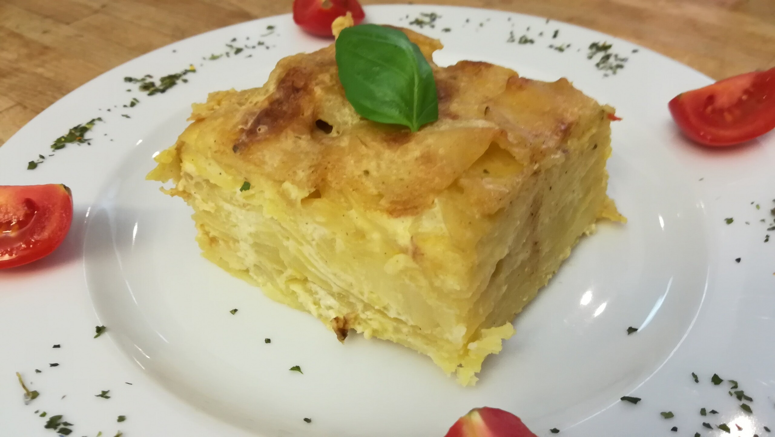 Kartoffelgratin - Mittagstisch Mittagessen Biodelikat Bad Tölz