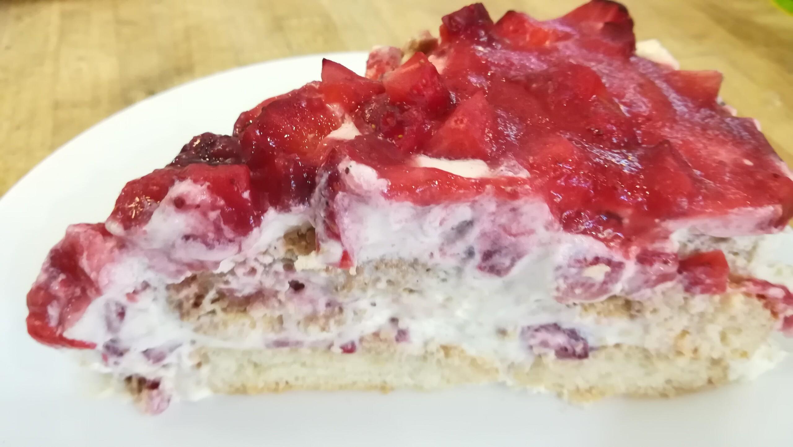 Erbeer-Tiramisu-Torte - Backtheke Bioladen Biodelikat Bad Tölz