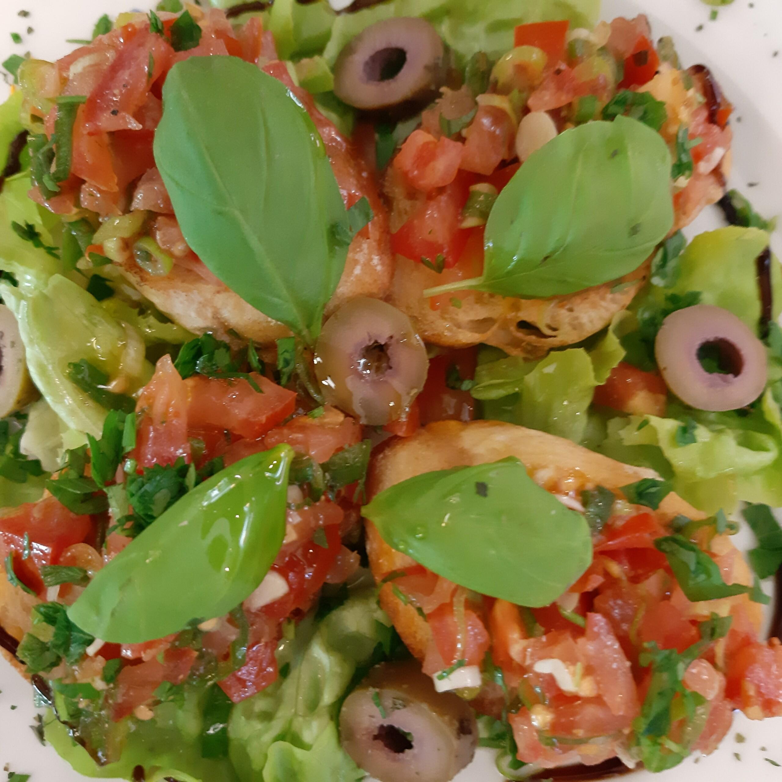 Bruschetta - Mittagstisch Mittagessen Biodelikat Bad Tölz