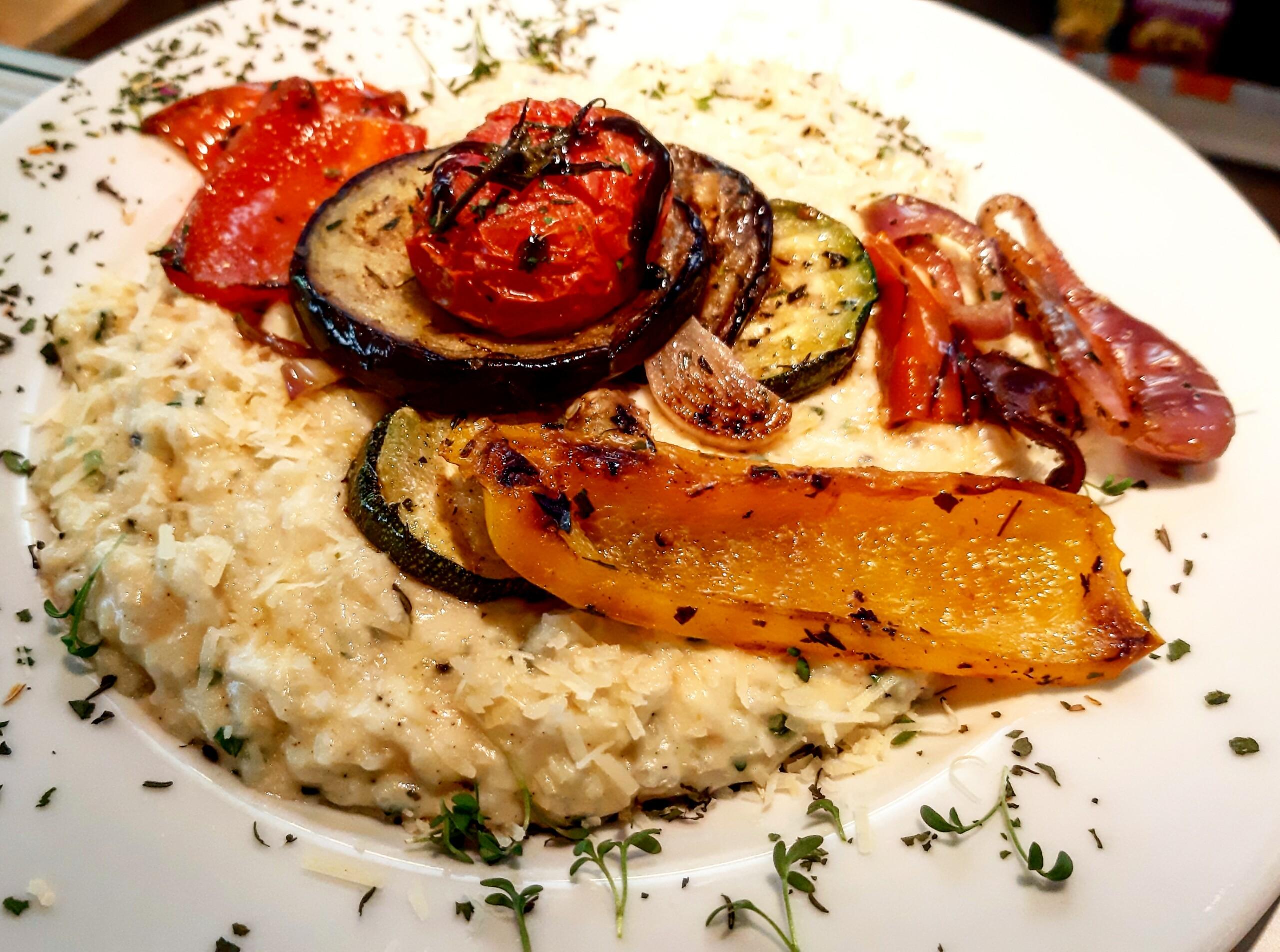 Gemüse-Risotto - Mittagstisch Mittagessen Biodelikat Bad Tölz