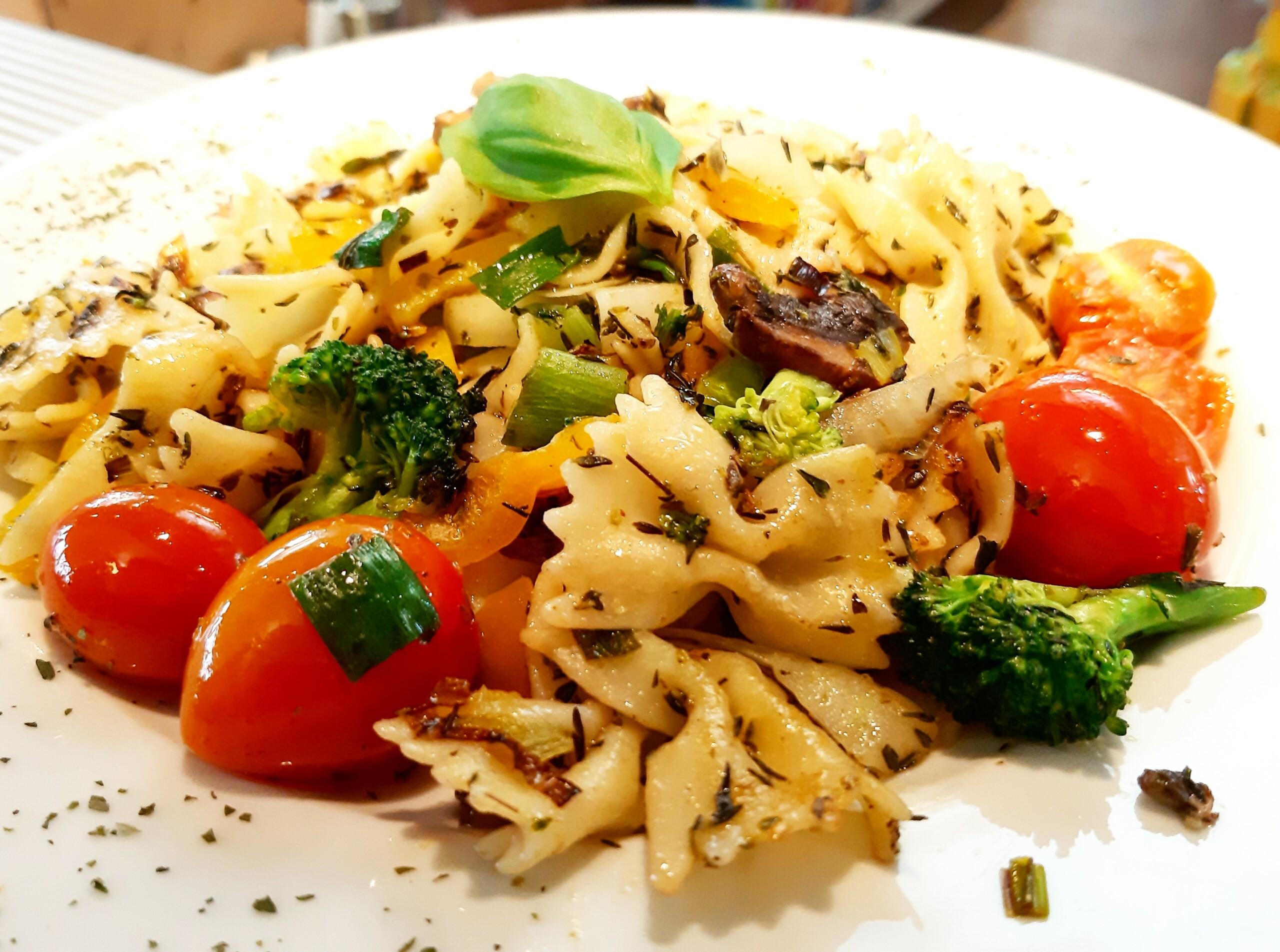 Gemüse Pasta - Mittagstisch Mittagessen Biodelikat Bad Tölz