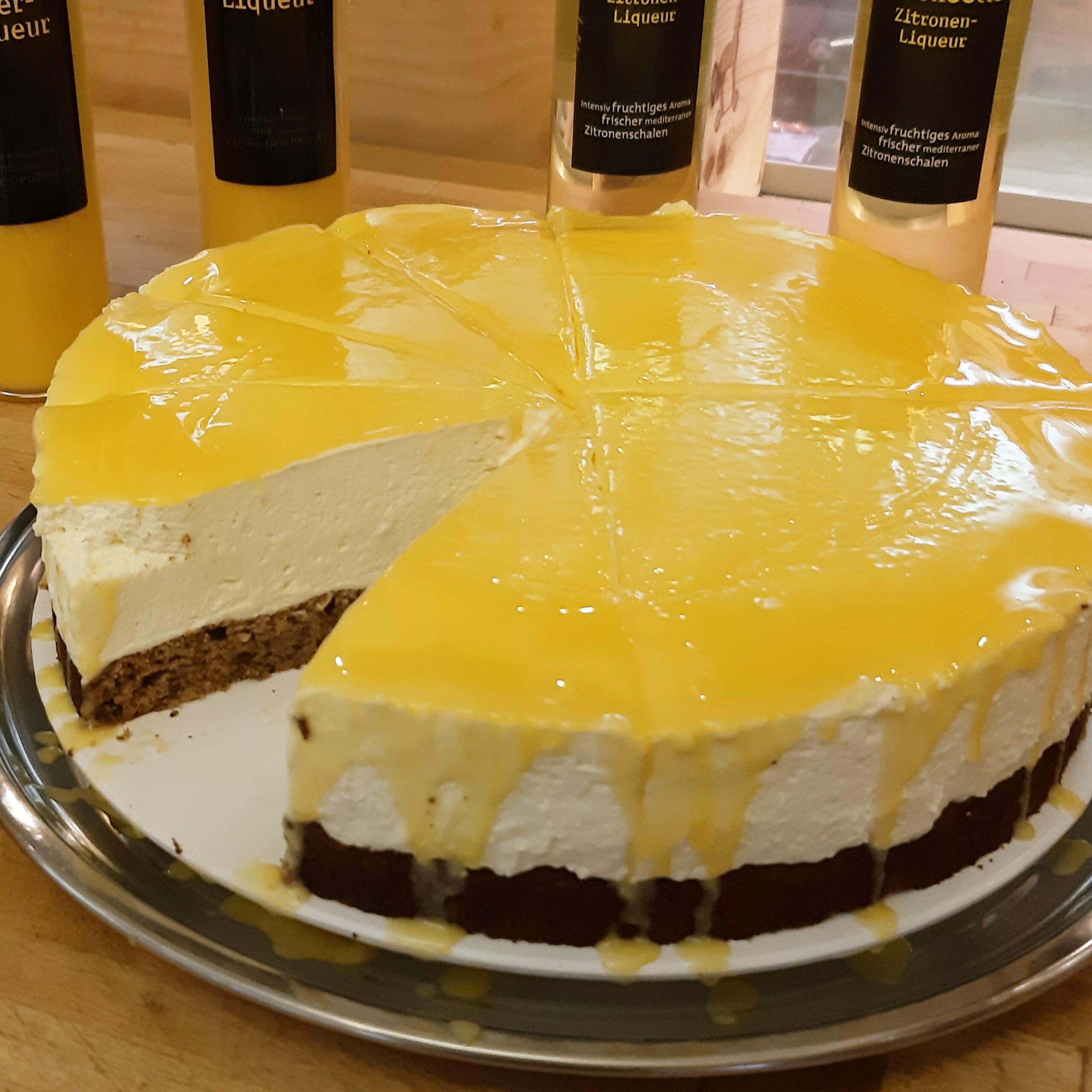 Eierlikör-Torte - Backtheke Bioladen Biodelikat Bad Tölz