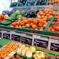 Große Auswahl Bio-Obst Bio-Gemüse Biomarkt Biodelikat Bad Tölz